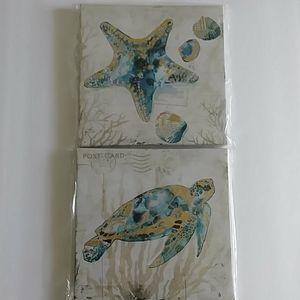 Canvas Wall Art - Sealife